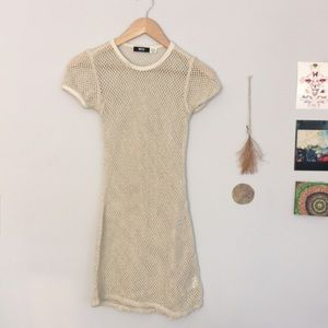 UO BDG Fishnet Uma T-shirt Dress